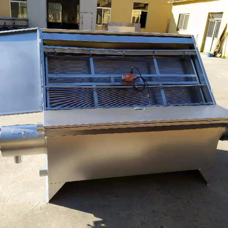 雞糞脫水機  連續擠壓固液分離機