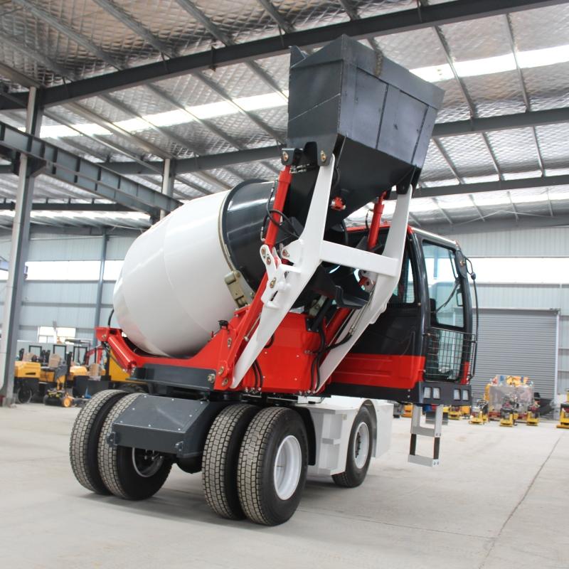 自动上料搅拌车 混凝土移动小型混凝土搅拌车