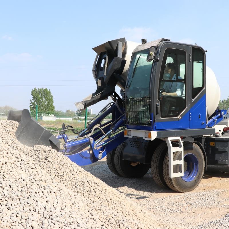 供应自动混凝土搅拌车 自动上料混凝土搅拌车
