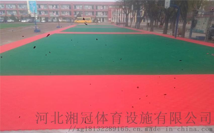 普洱墨江橡膠拼裝地墊跑道雙層米格系列