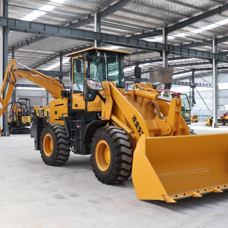 全新前挖后铲一体机 小型液压两头忙 挖掘装载机
