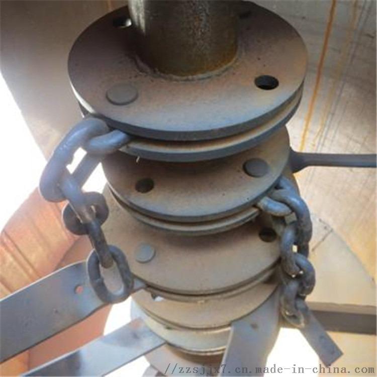聚丙乙烯板粉碎机 复混肥块料链片粉碎机 返料回转粉碎链式