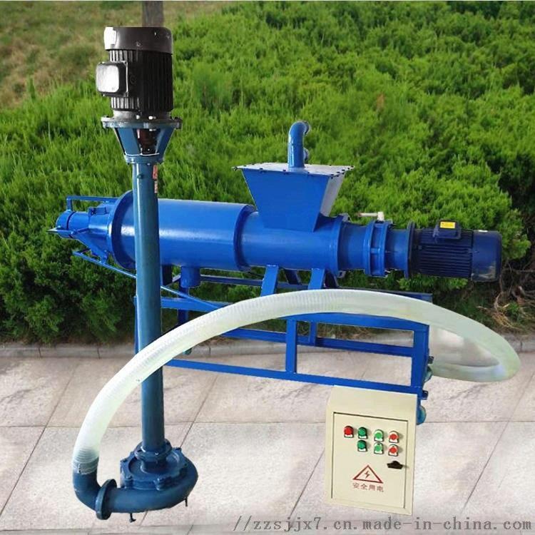 粪便固液分离机 螺旋挤压鸡粪脱水机 干湿物料脱水机