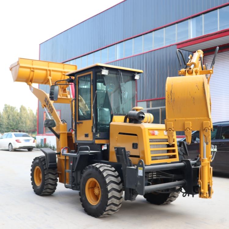 厂家多功能前铲后挖一体机 两头忙型号大全