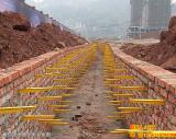 玻璃钢电缆支架组合式电缆支架预埋式支架