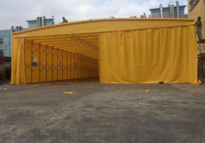 西安厂家定做推拉雨棚移动帐篷遮阳棚夜市摊棚子140501165