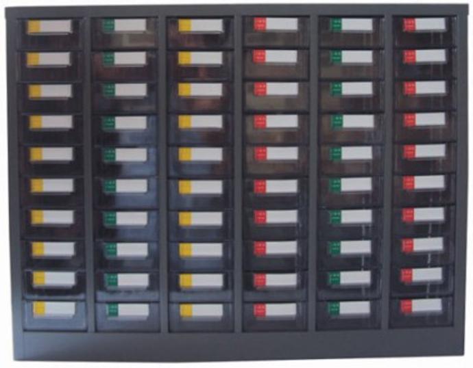 零件柜  多抽零件柜 钢制零件柜小零件收纳场所41784235