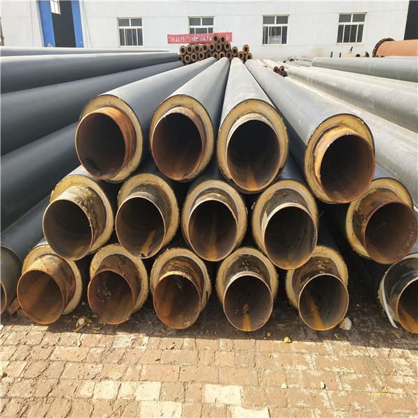晋中鑫金龙集中供热管道聚氨酯保温管DN600/630玻璃钢聚氨酯保温管