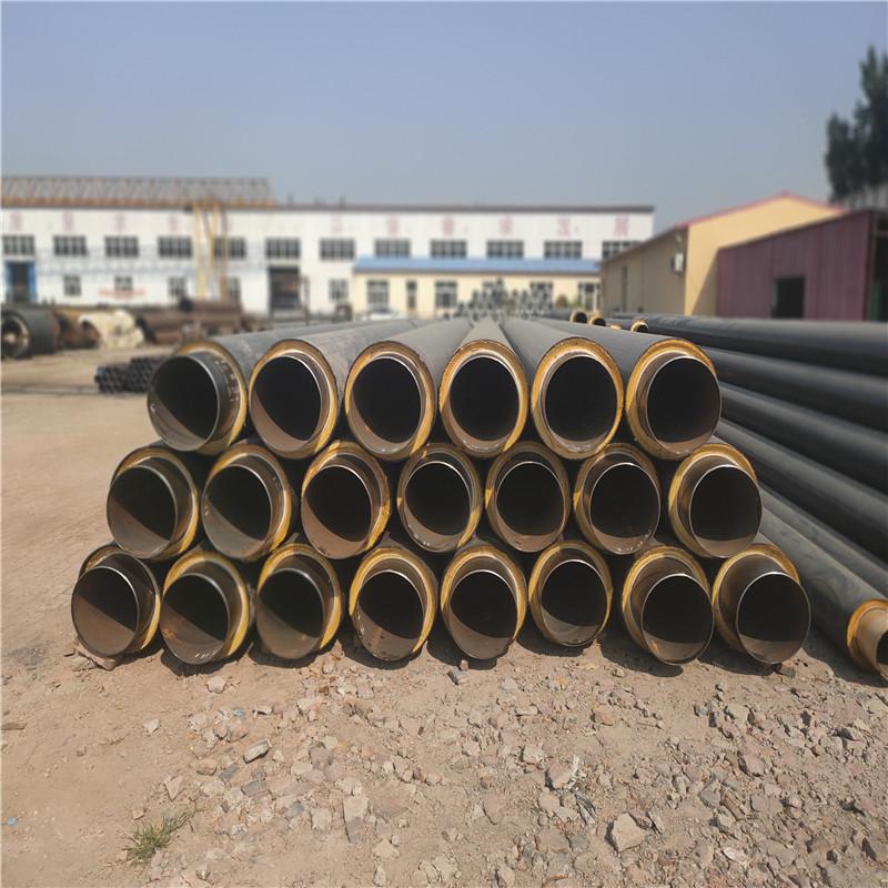 汕尾 鑫龍日升 鋼套鋼蒸汽保溫管dn32/42供暖聚氨酯直埋管道