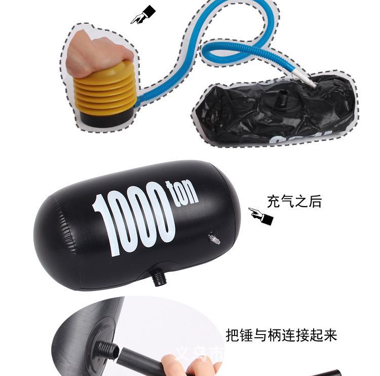 卡通千噸錘充氣錘玩具5-10元模式地攤跑江湖供應商