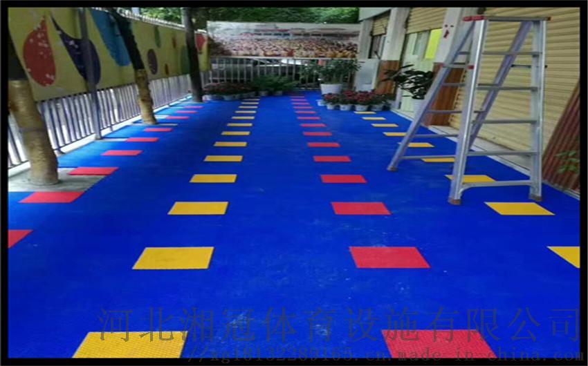 定西市雪花米懸浮地板 甘肅拼裝地板廠家