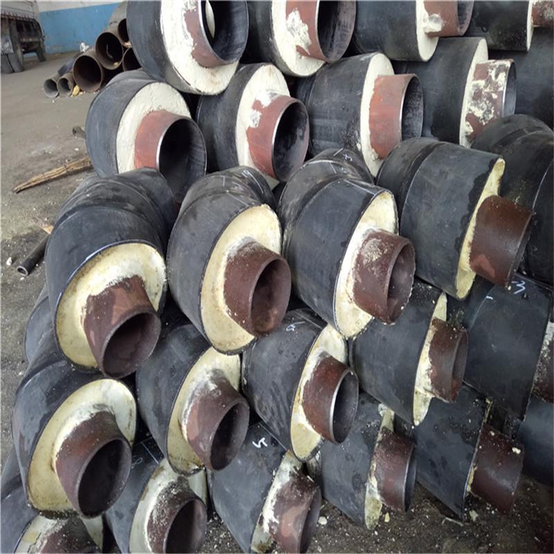 百色 鑫龙日升 玻璃钢预制聚氨酯保温管dn700/730聚氨酯保温发泡管