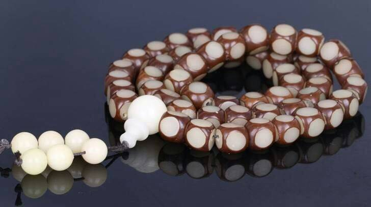 54颗菩提念珠饰品挂件20元一串模式赶集庙会热卖产品供货商