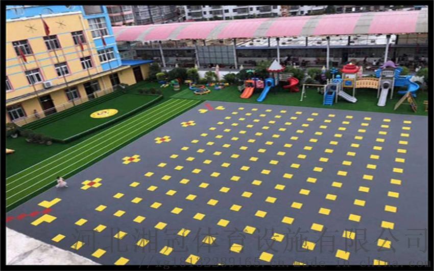 娄底市篮球场拼装地板气垫拼装地板