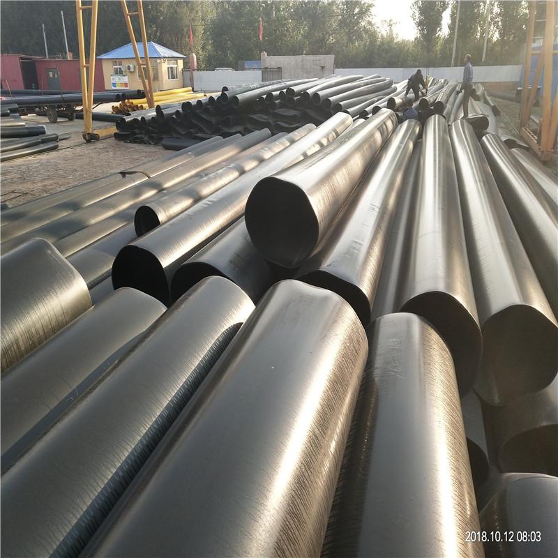 阿拉善 鑫龙日升 聚氨酯发泡管DN700/730埋地式硬质泡沫保温钢管