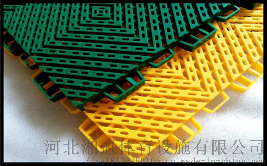 定西市雪花米悬浮地板 甘肃拼装地板厂家