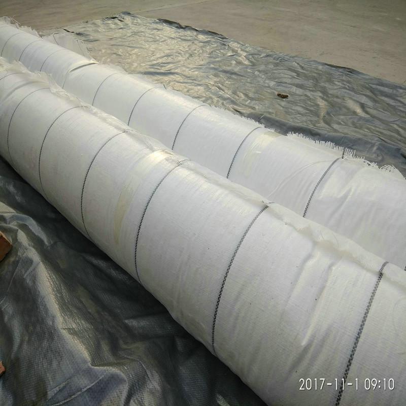 白色除草地布,广东180克渗水防草布