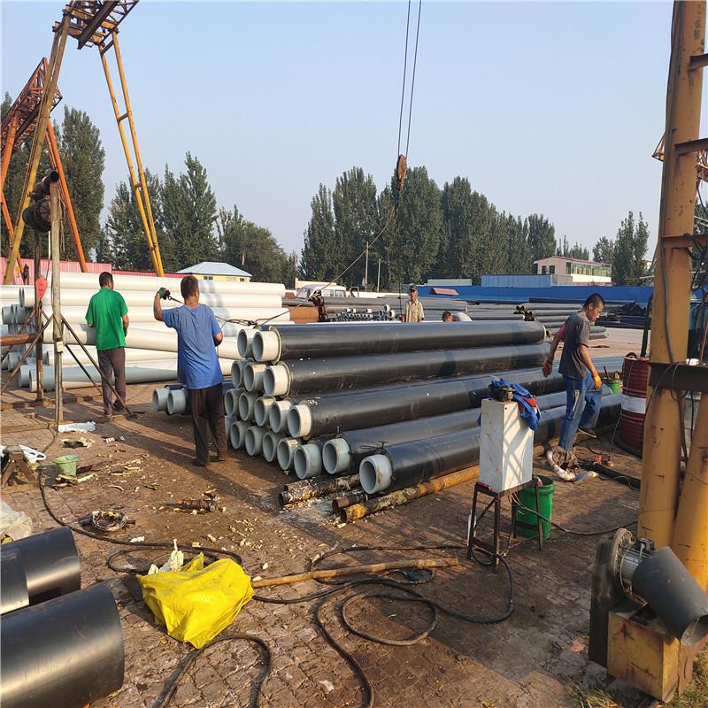 浙江 鑫龙日升 钢套钢蒸汽保温管dn450/478小区集中采暖管道