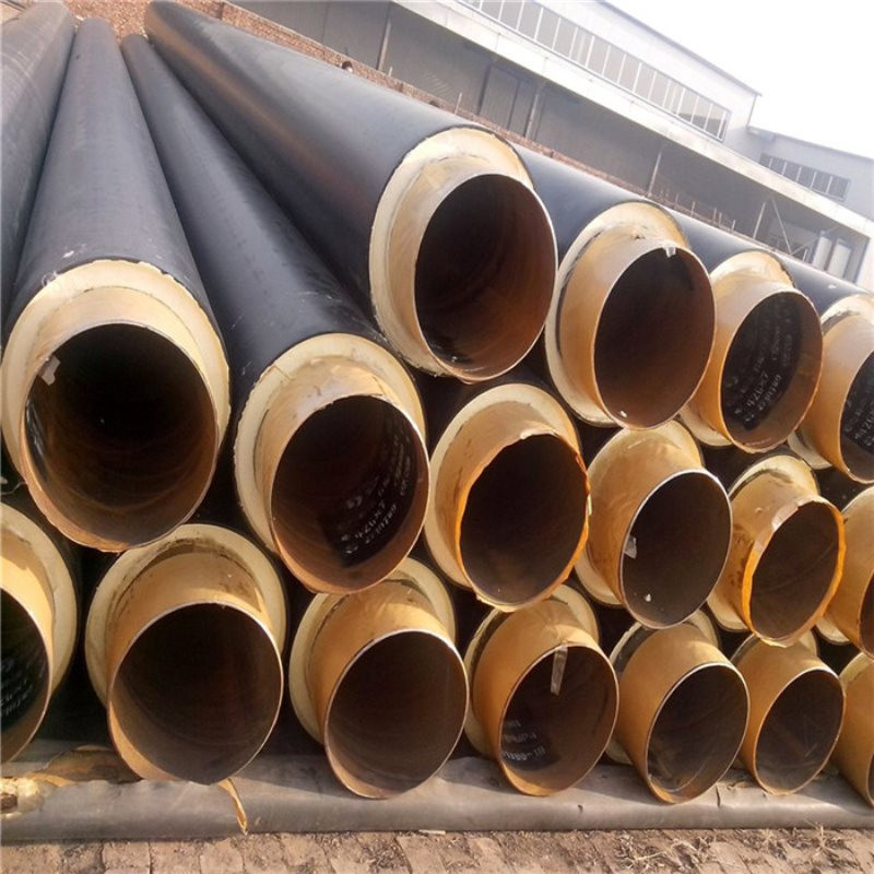 周口 鑫龙日升 发泡聚氨酯保温管DN800/820聚氨酯发泡保温管道