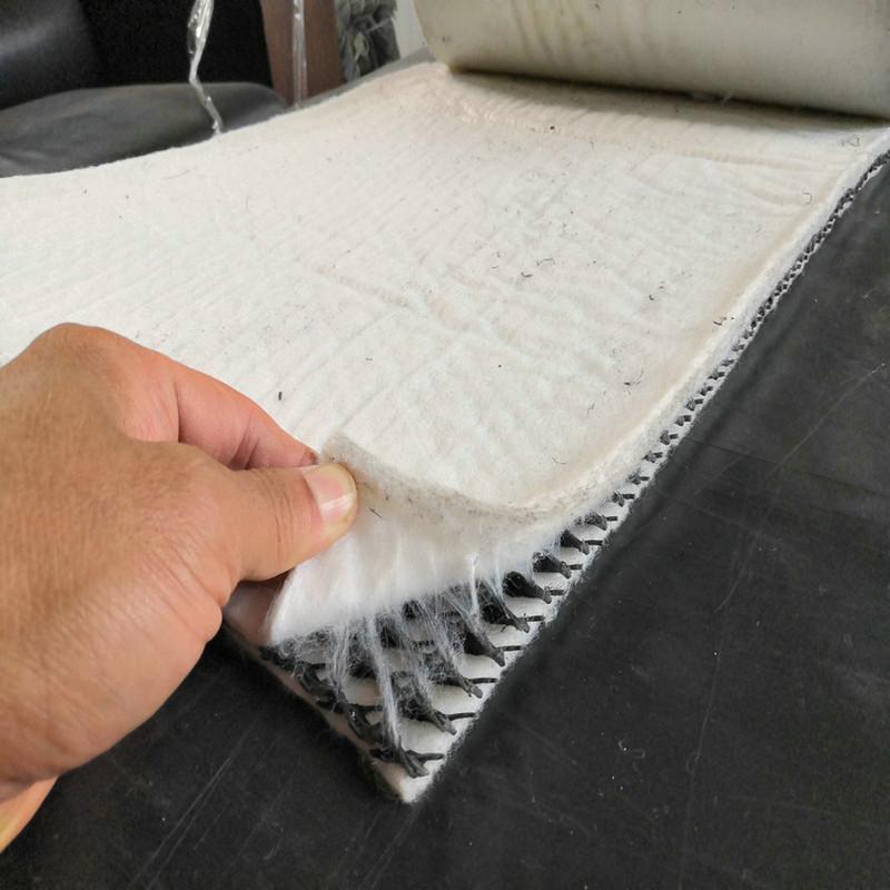 三维复合排水网6.3mm厚应用效果