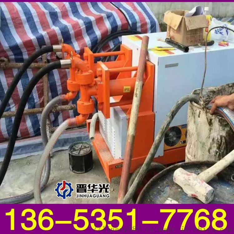 安徽滁州市液压大颗粒混凝土输送泵高品质双液注浆泵 厂家直销