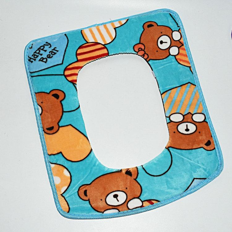 馬桶墊粘扣貼式型坐廁墊套保暖馬桶座墊便套墊