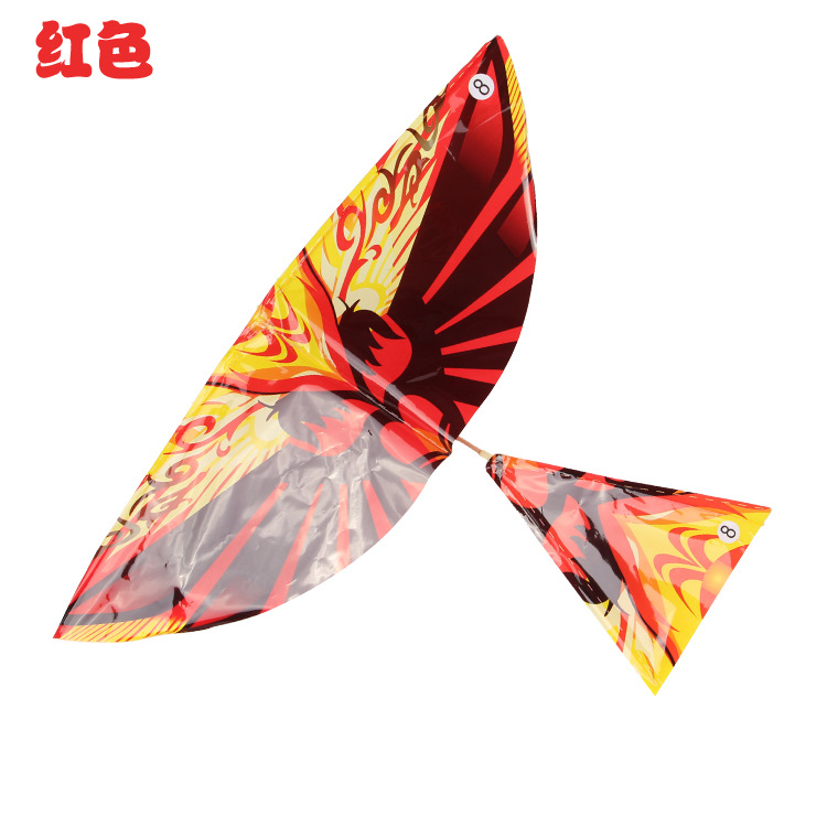 大號長橡皮筋動力飛鳥 成品大鳥 撲翼機 尾部可調節 地攤熱賣
