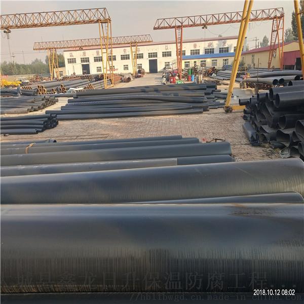 临汾市鑫金龙预制泡沫聚氨酯保温管DN900/920无缝聚氨酯保温管