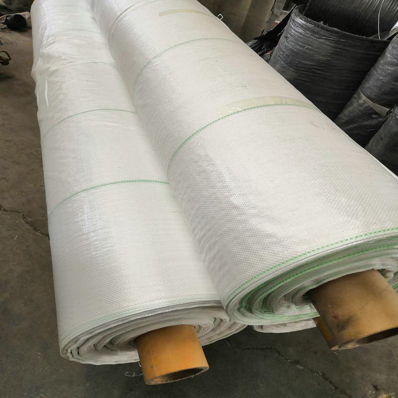 大棚白色地布,天津2米宽PP地布