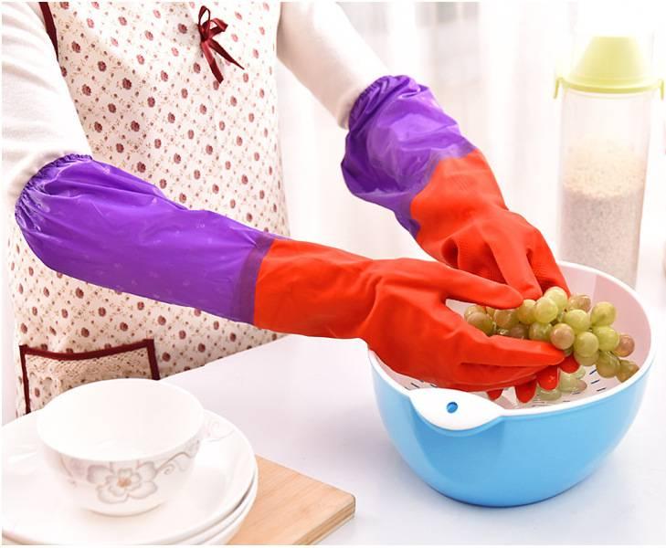 跑江湖10元模式地攤農村趕集橡膠洗碗手套多少錢