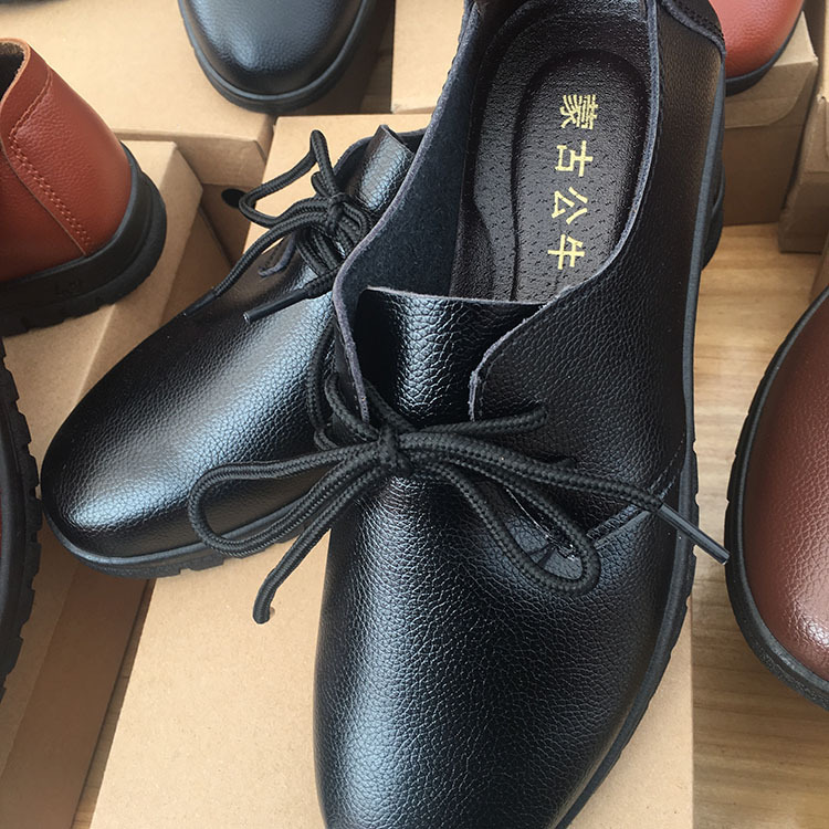 砸不破蒙古公牛皮鞋49元模式地摊江湖爆款批发