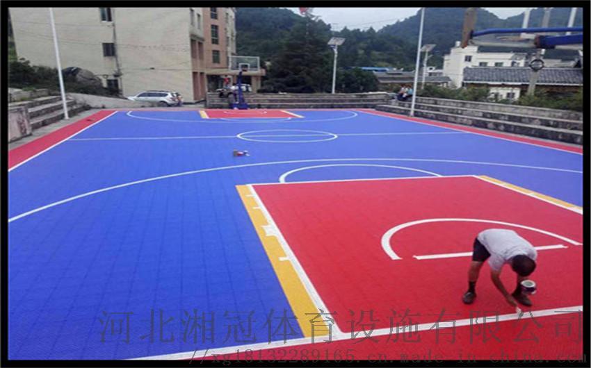 馬鞍山籃球場 拼裝地板安徽拼裝地板廠家