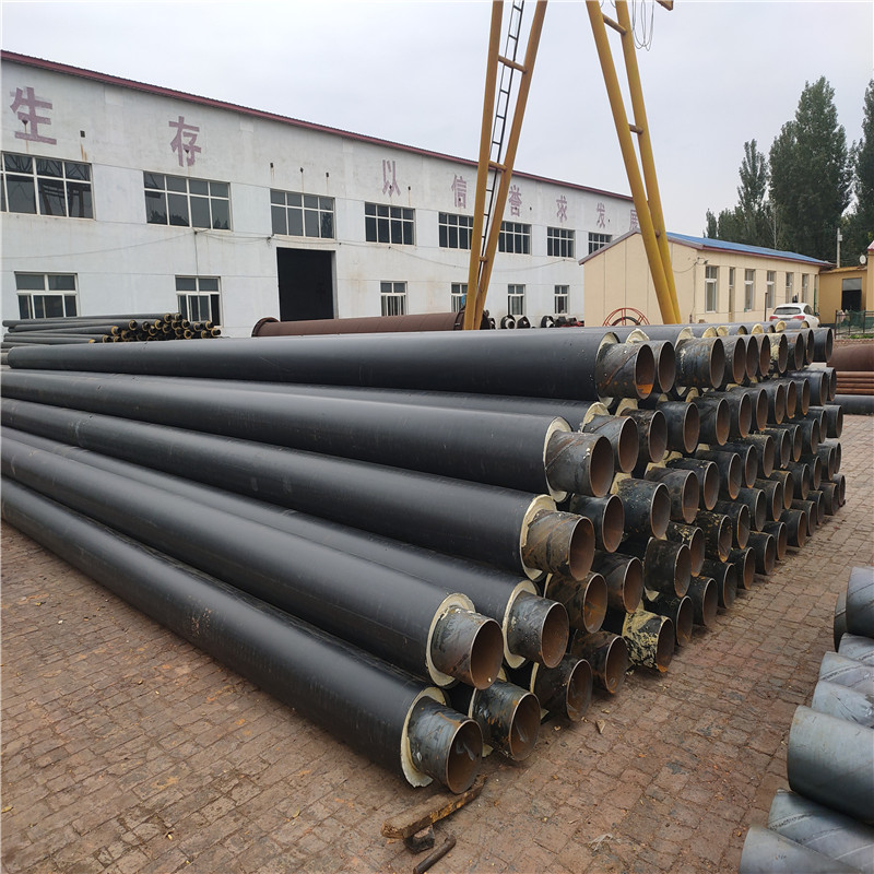 鄂爾多斯 鑫龍日升 供暖管線預製直埋聚氨酯保溫鋼管DN32/42聚氨酯保溫預製管