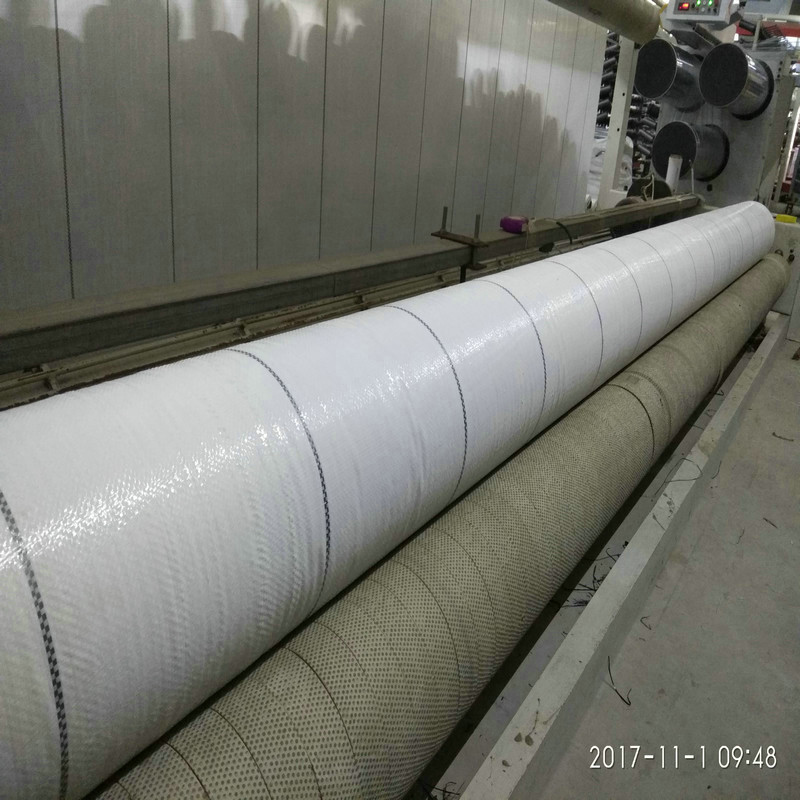 白色PE地布,重庆3米宽90克防草布