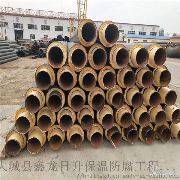 浦东新区鑫龙DN100/108硬质聚氨酯塑料预制管规格齐全