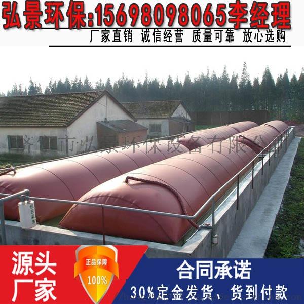 沼气池设计图纸-1000立方红泥发酵池浮罩建设厂家816746752