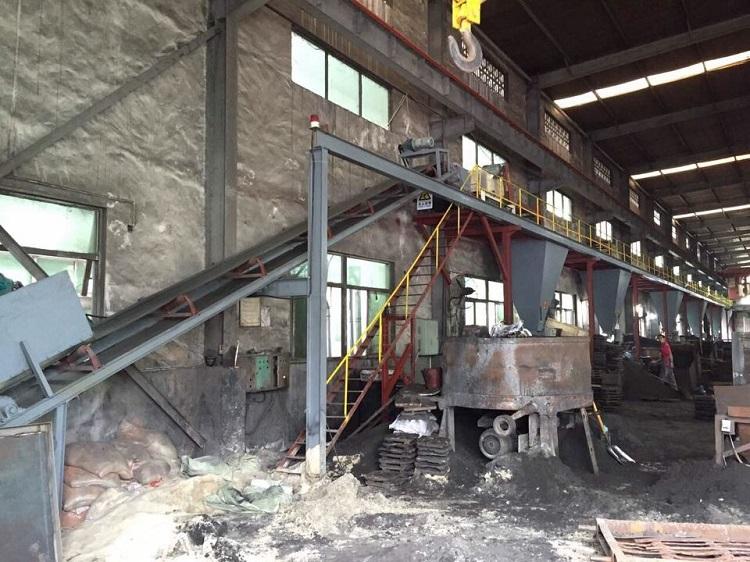 大型铸造设备生产线粘土砂处理,粘土砂生产线822386675