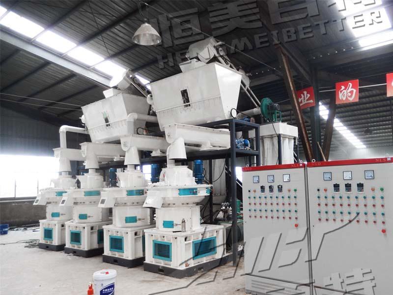 安徽時產2噸木屑顆粒機,制粒機生產線 廠家直銷79031502
