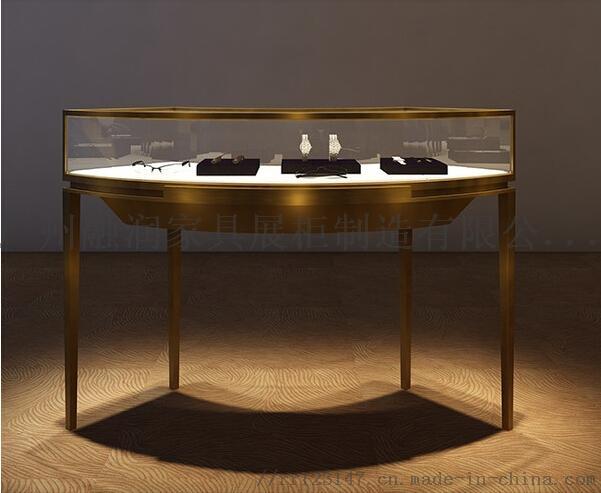 广州融润家具定做钛合金珠宝首饰展示柜制作设计厂家823120465