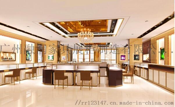 廣州融潤傢俱時尚商場不鏽鋼珠寶展示櫃製作設計823748335