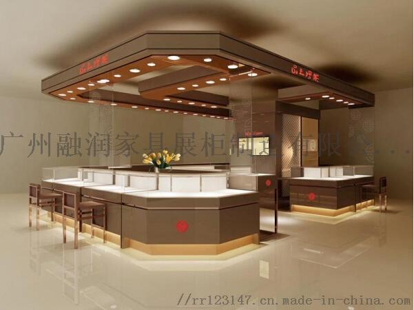 廣州融潤傢俱定做鈦合金珠寶首飾展示櫃製作設計廠家101481665