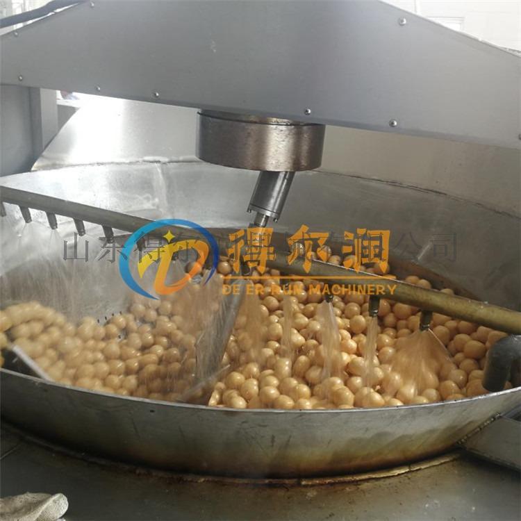 清水面筋球油炸设备 燃气面筋球油炸机 炸面筋球机器89037252