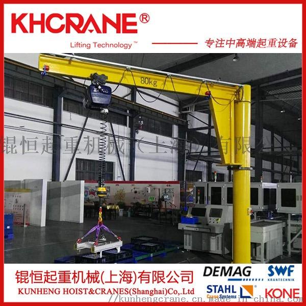 供應360°手動工字鋼懸臂起重機配智慧提升機831386115