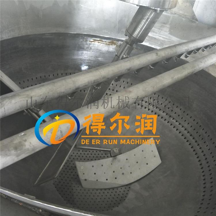 清水面筋球油炸设备 燃气面筋球油炸机 炸面筋球机器800848652