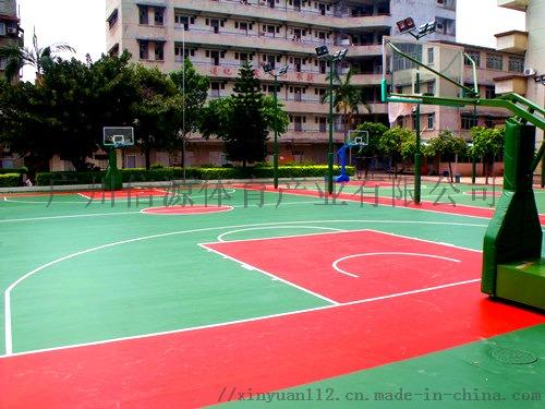 广州新国标硅PU塑胶篮球场施工建设材料生产厂家105629685
