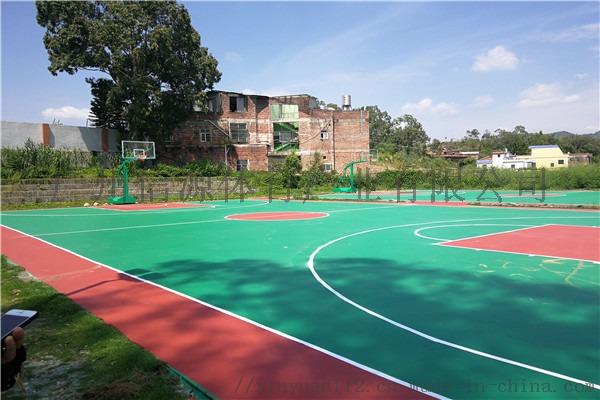 广州新国标硅PU塑胶篮球场施工建设材料生产厂家105629475