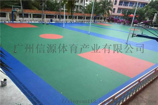 广州新国标硅PU塑胶篮球场施工建设材料生产厂家105629415