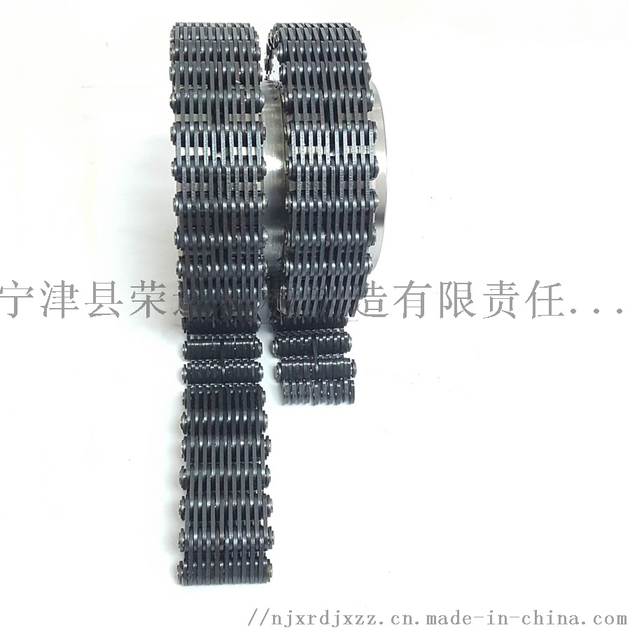 12.7內導19片28齒雙排齒形鏈輪鏈條1.jpg