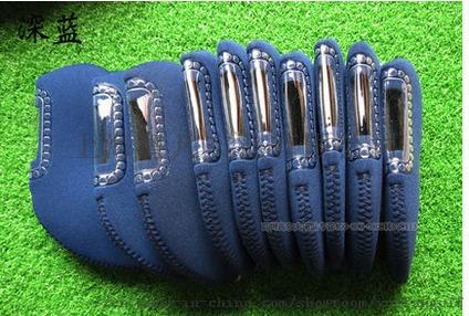 厂家供应高尔夫铁杆套万能可视铁杆套791871702