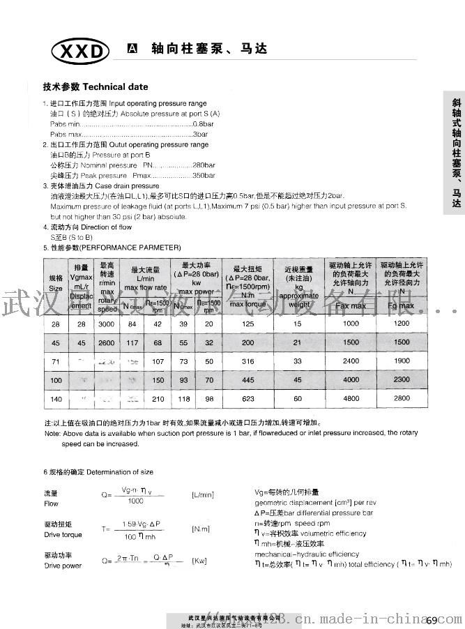泵A4VSG750HD/22R-PPH10NOO106027325